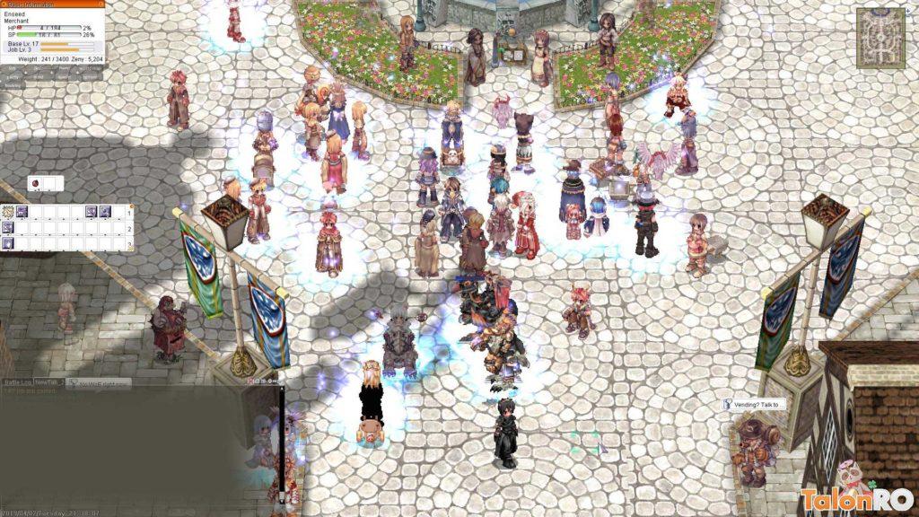 Ragnarok Online MMORPG Prontera i nostalgia