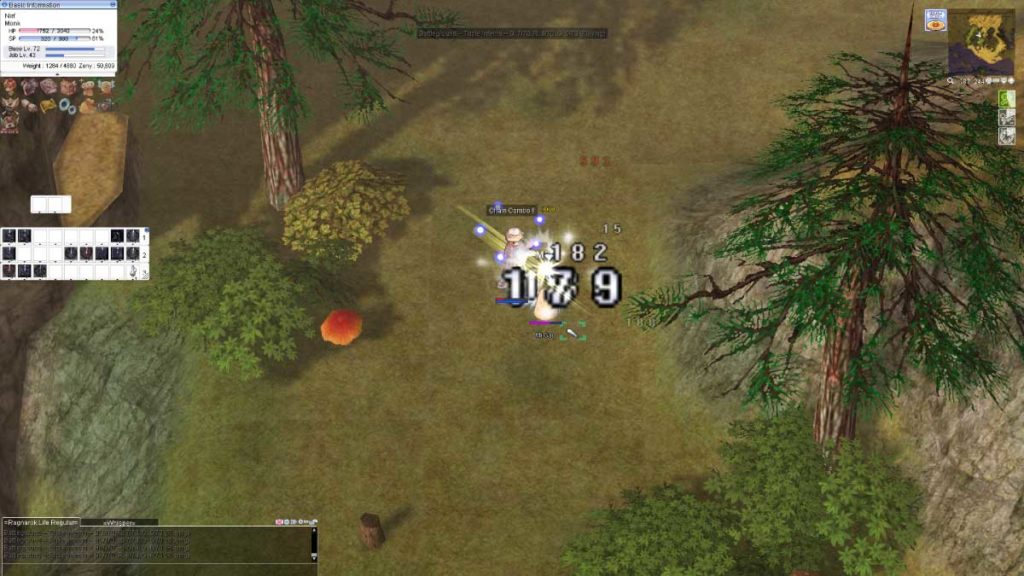 Lokacja MMORPG i nostalgia