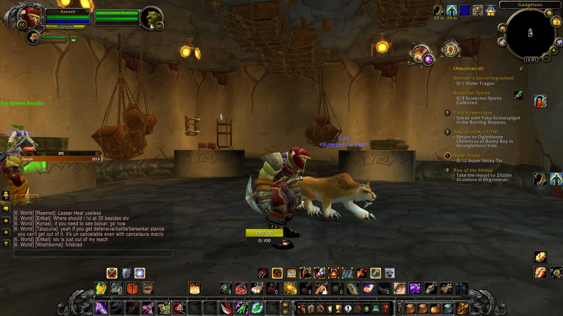 Budowa Postaci - World of Warcraft Ascension