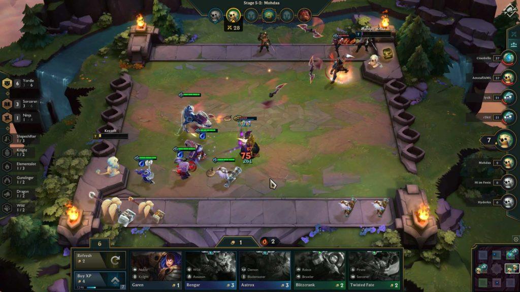 Teamfight Tactics VS Dota Underlords