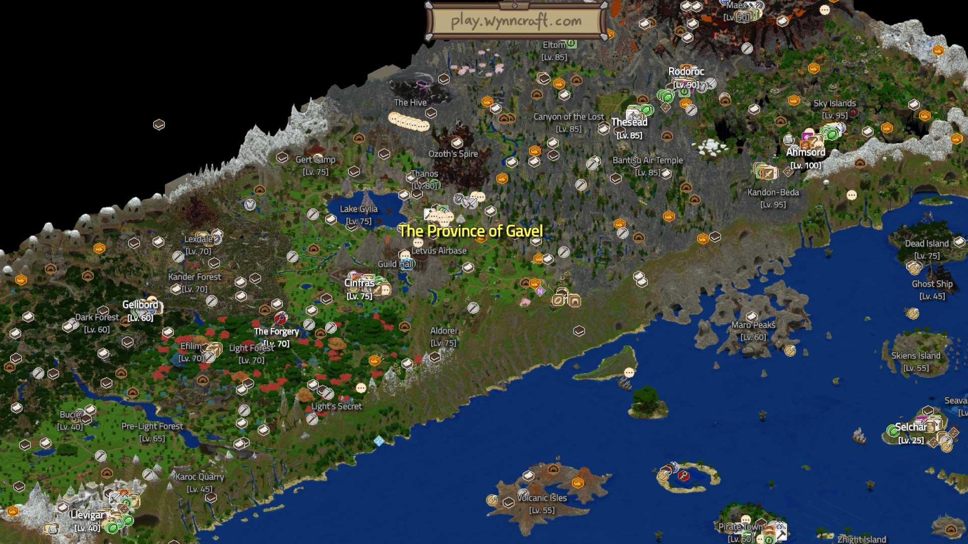 Wynncraft Minecraft MMORPG