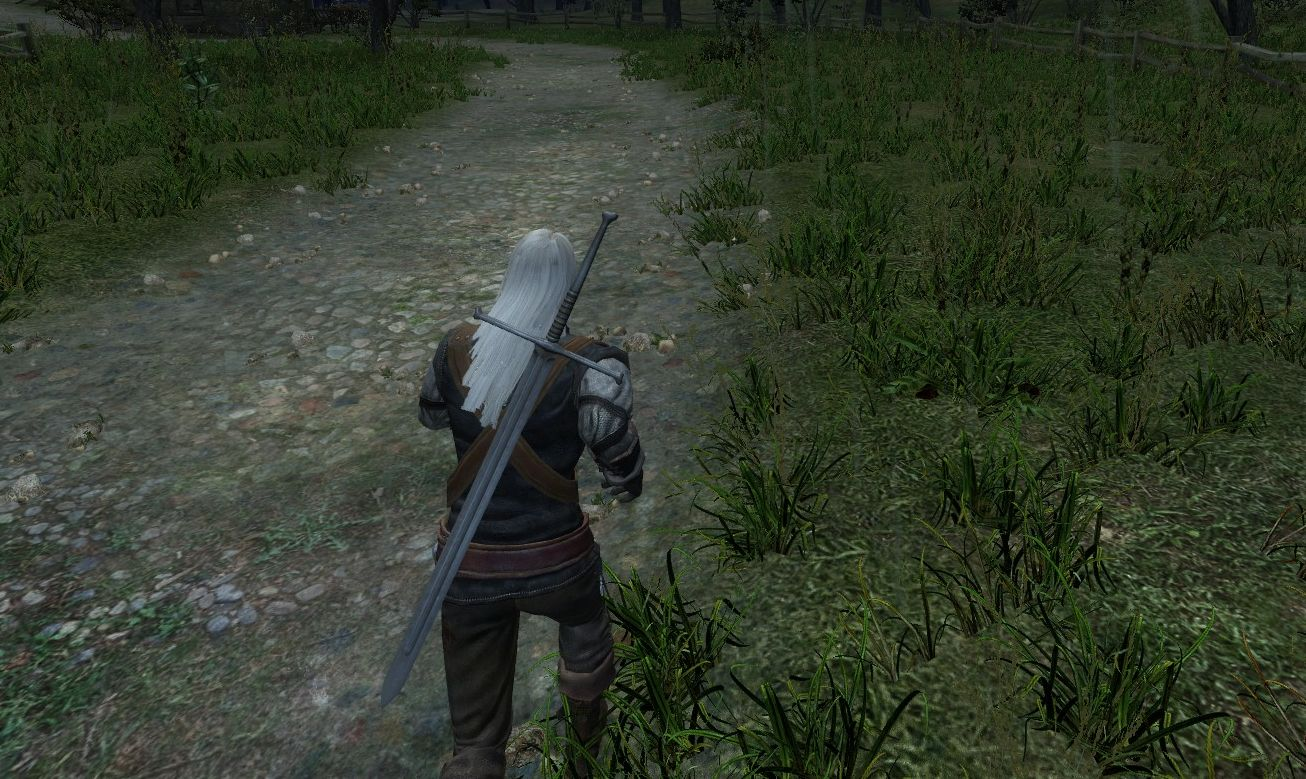 Faster Movement mod witcher 1