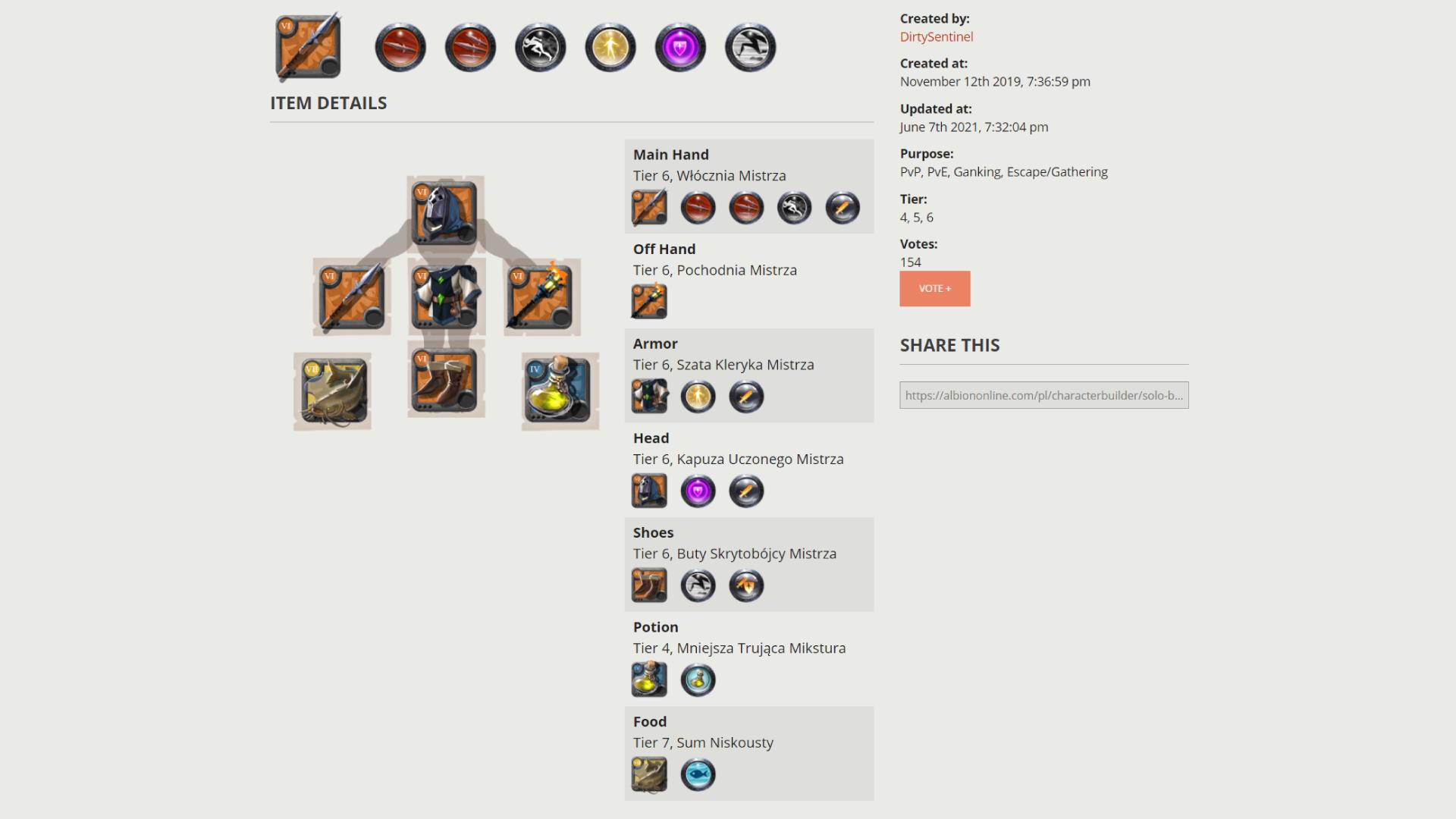 Albion Online Poradnik Solo Build dla początkujących
