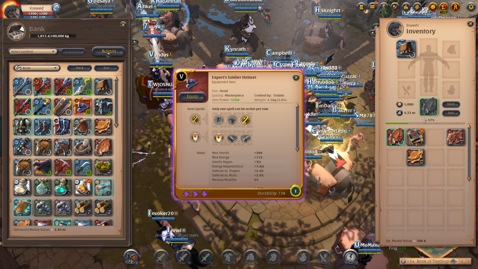 Albion Online EQ Tier