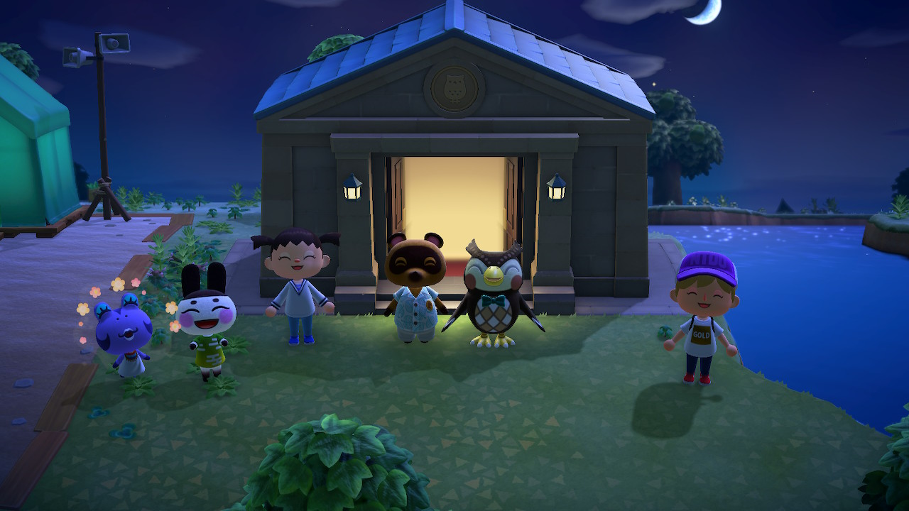 Animal Crossing Otwarcie muzeum