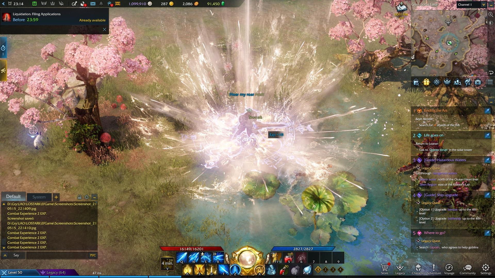 Lost Ark Online Awakening Skill