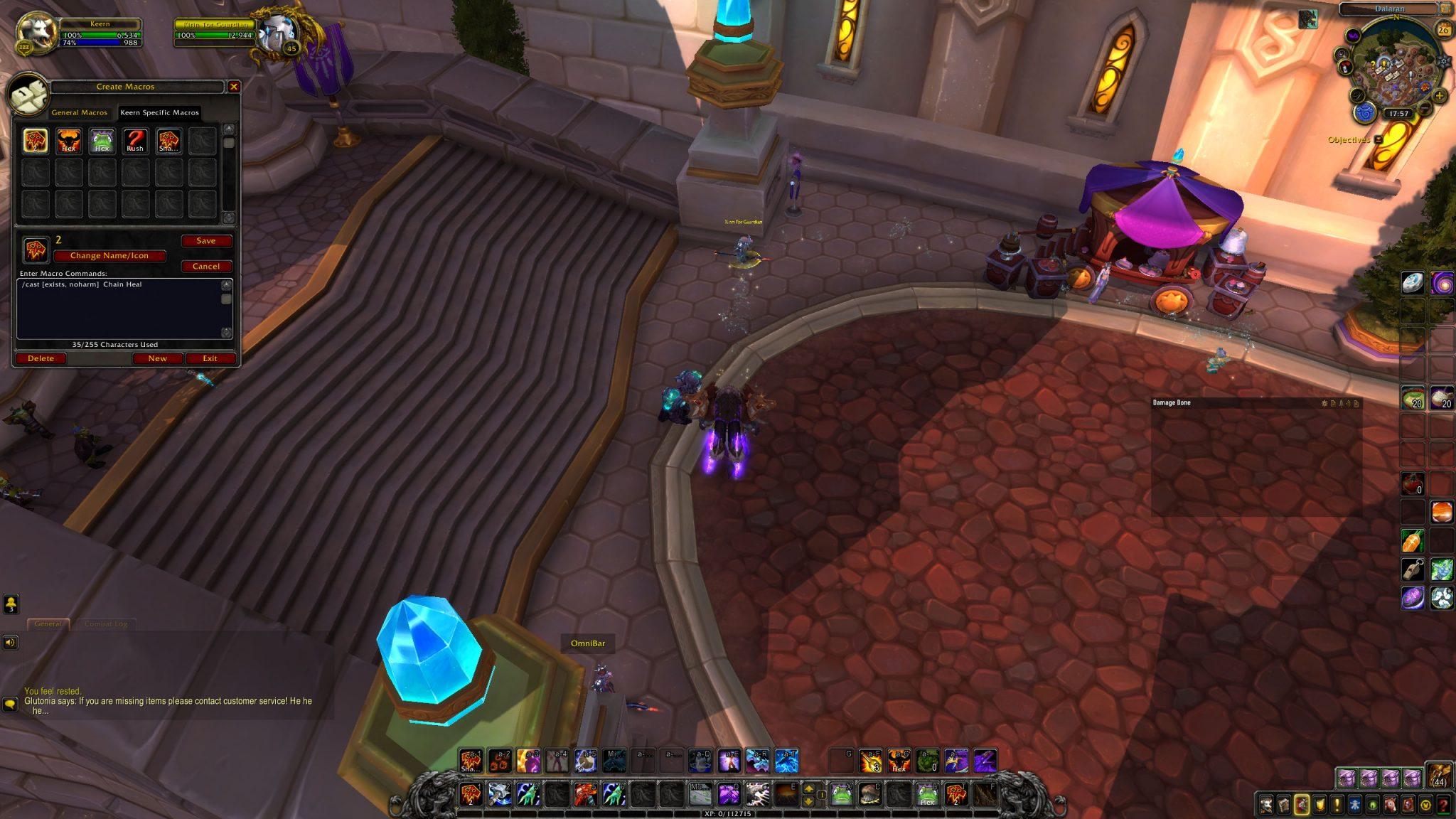 Warunki wmacro World of Warcraft