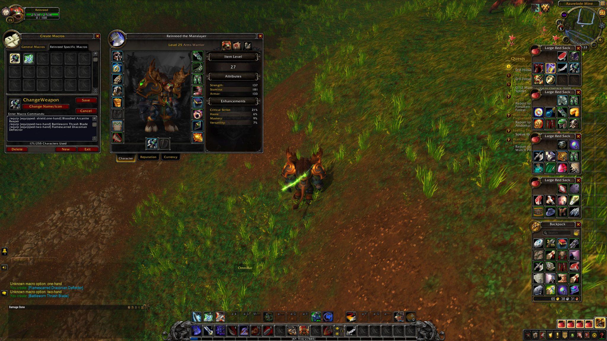 World of Warcraft Poradnik macro