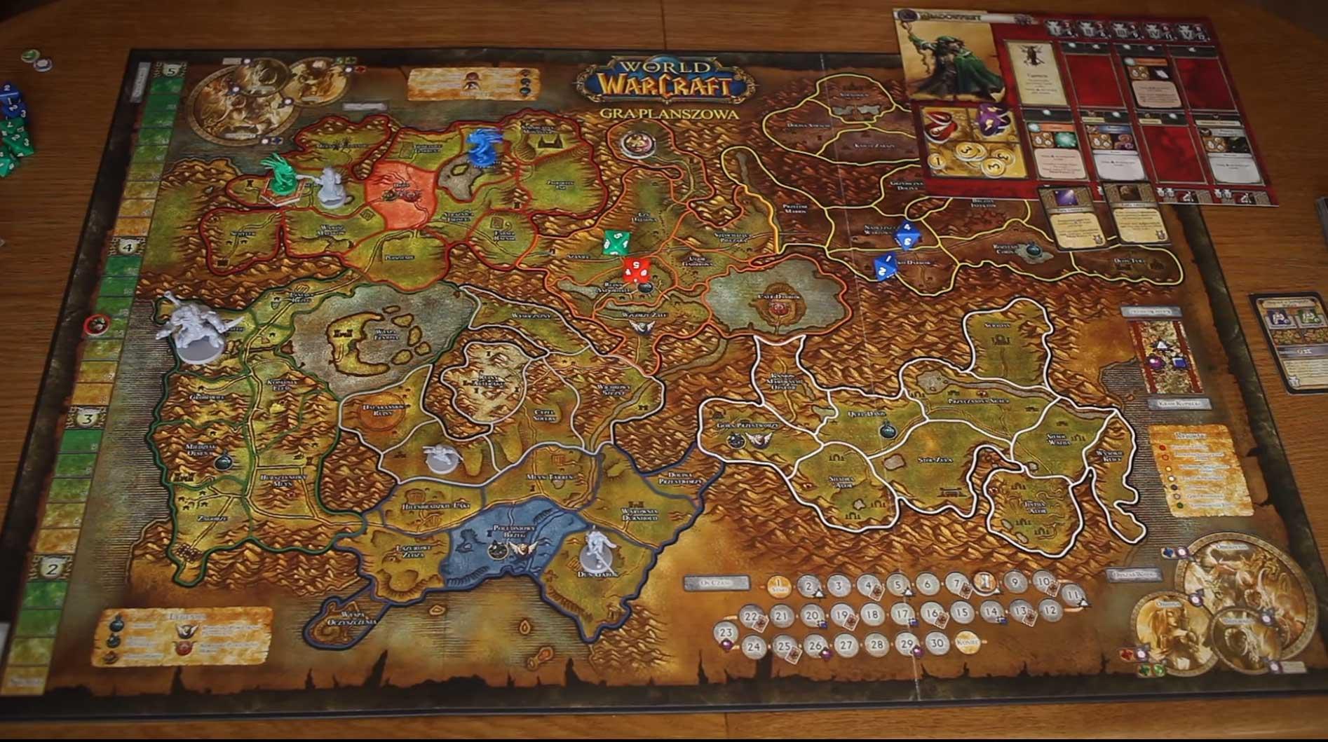 Gry planszowe napodstawie gier komputerowych World of Warcraft
