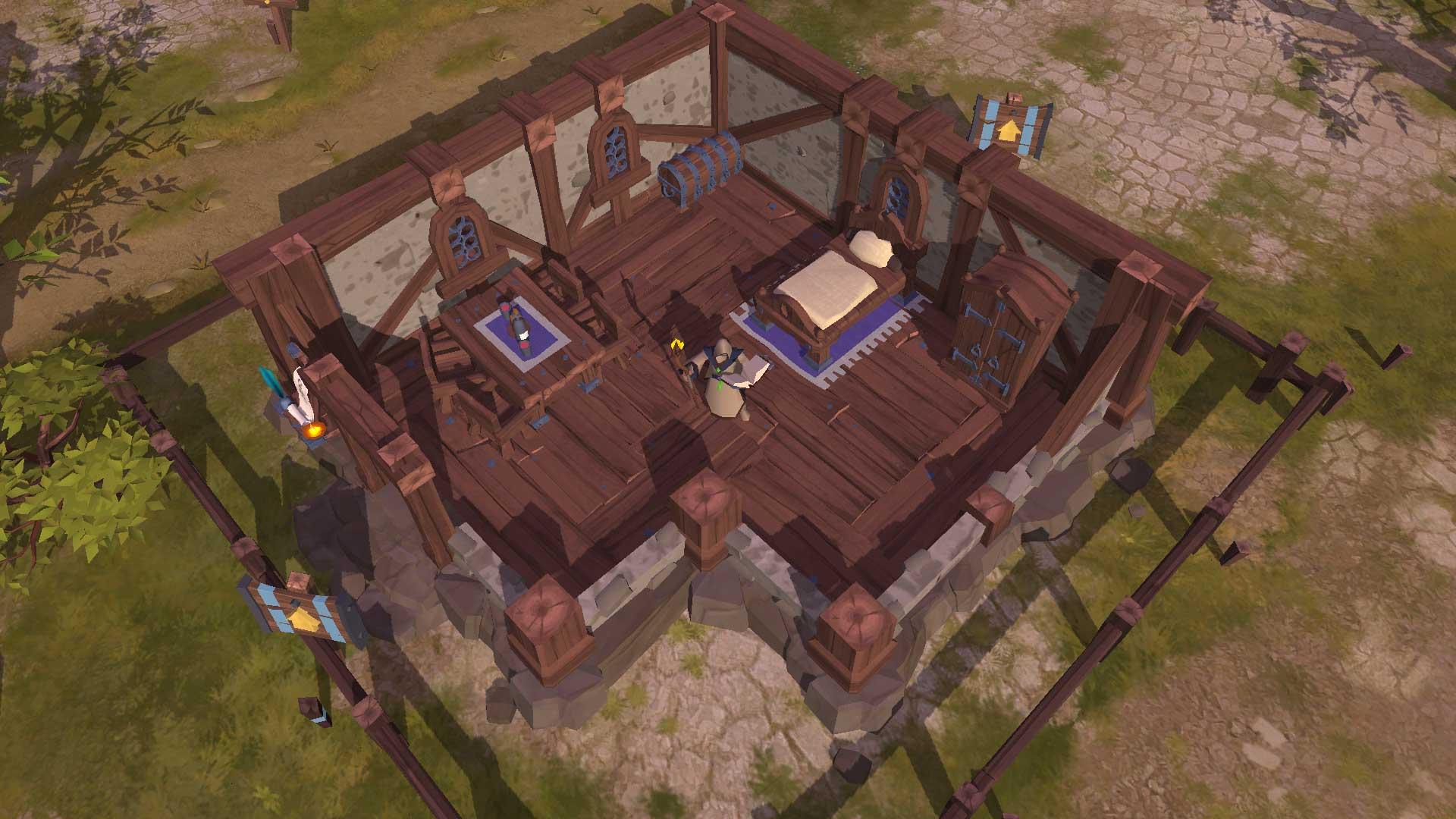 Housing-w-MMORPG-Albion-Online