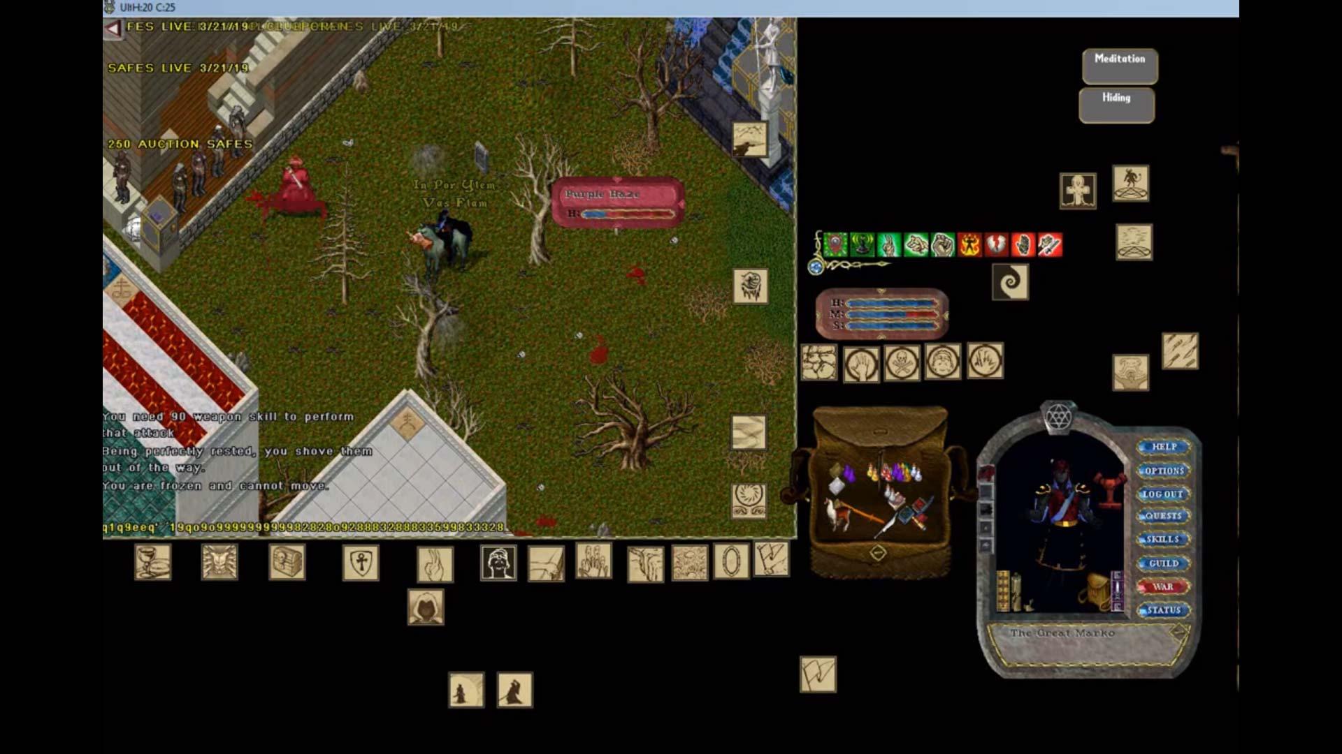 Historia MMORPG