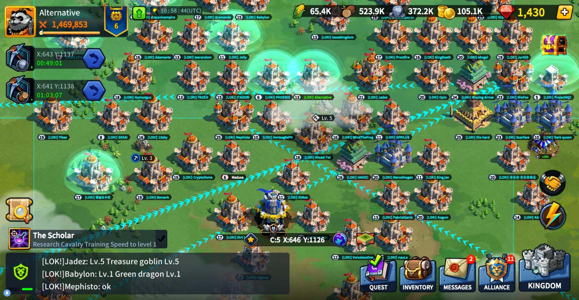 League of Kingdoms LAND