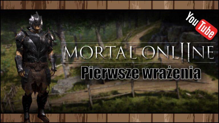 [YouTube] Mortal Online 2 (Alpha 0.1) – Pierwsze wrażenia