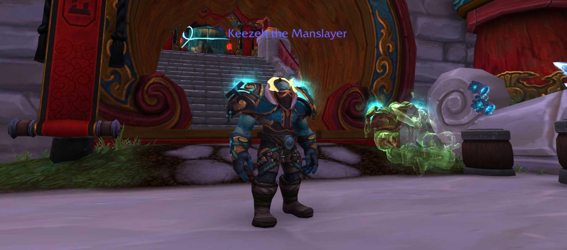Monk Shadowlands strona oMMORPG