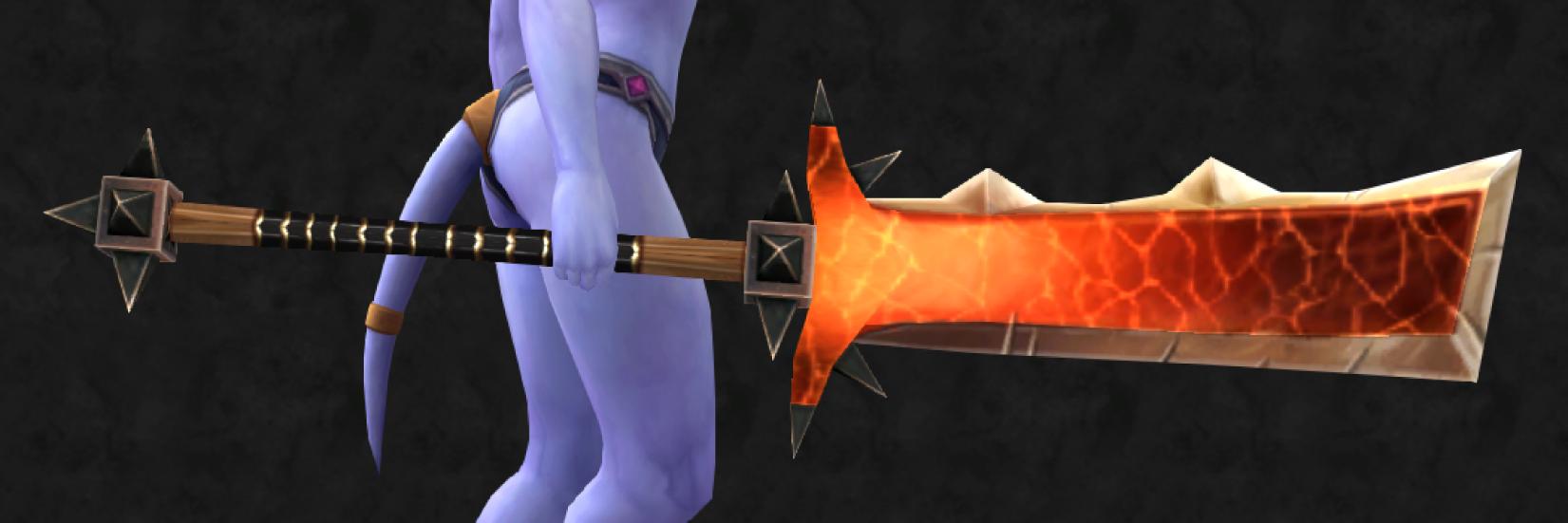najlepiej wyglądające bronie wMMORPG foereaver polearm