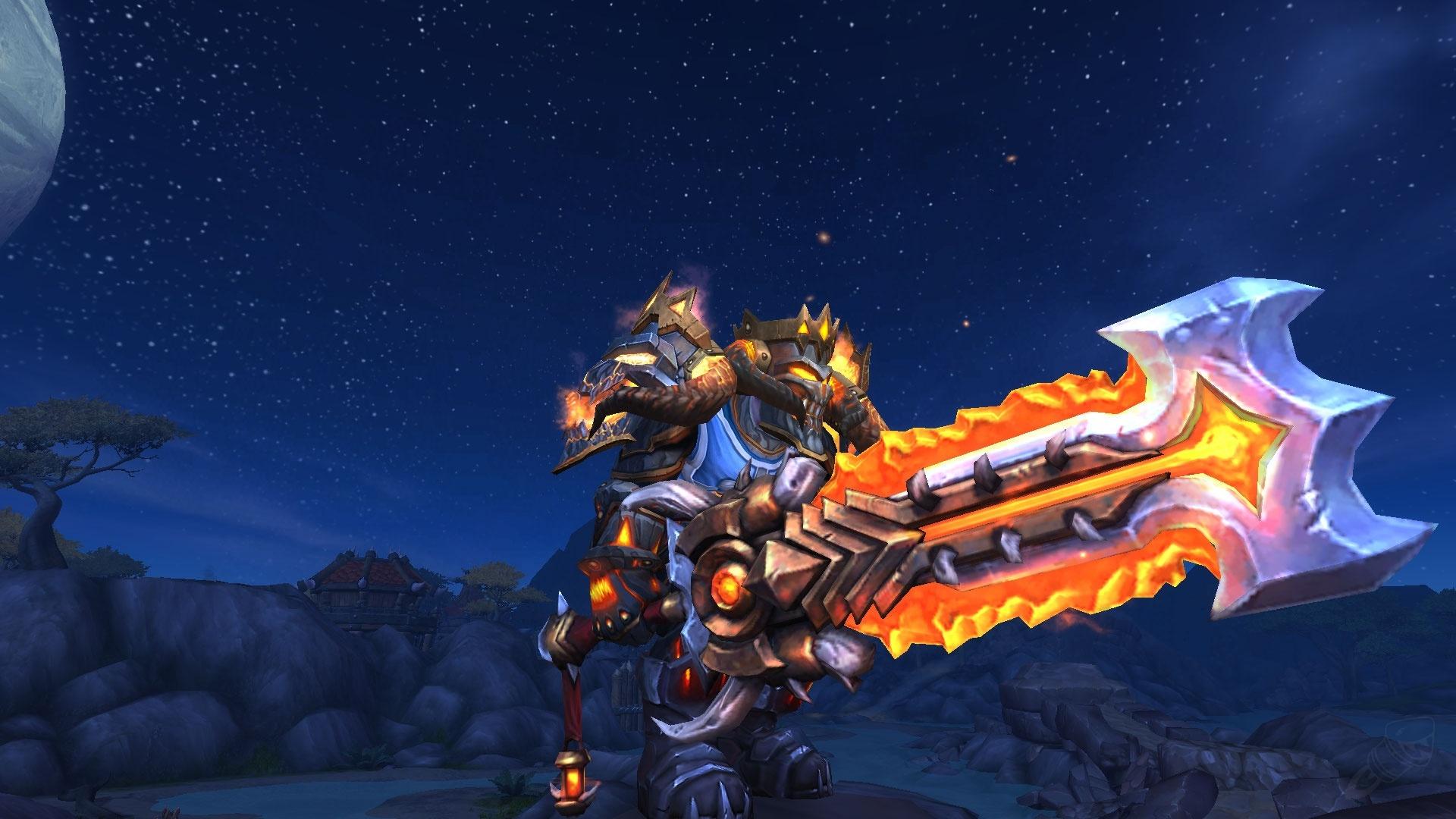 najlepiej wyglądające bronie wMMORPG greatsword of the glaive
