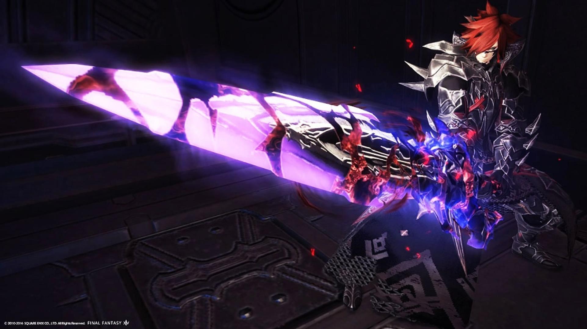 najlepiej wyglądające bronie wMMORPG hyperconductive nothung