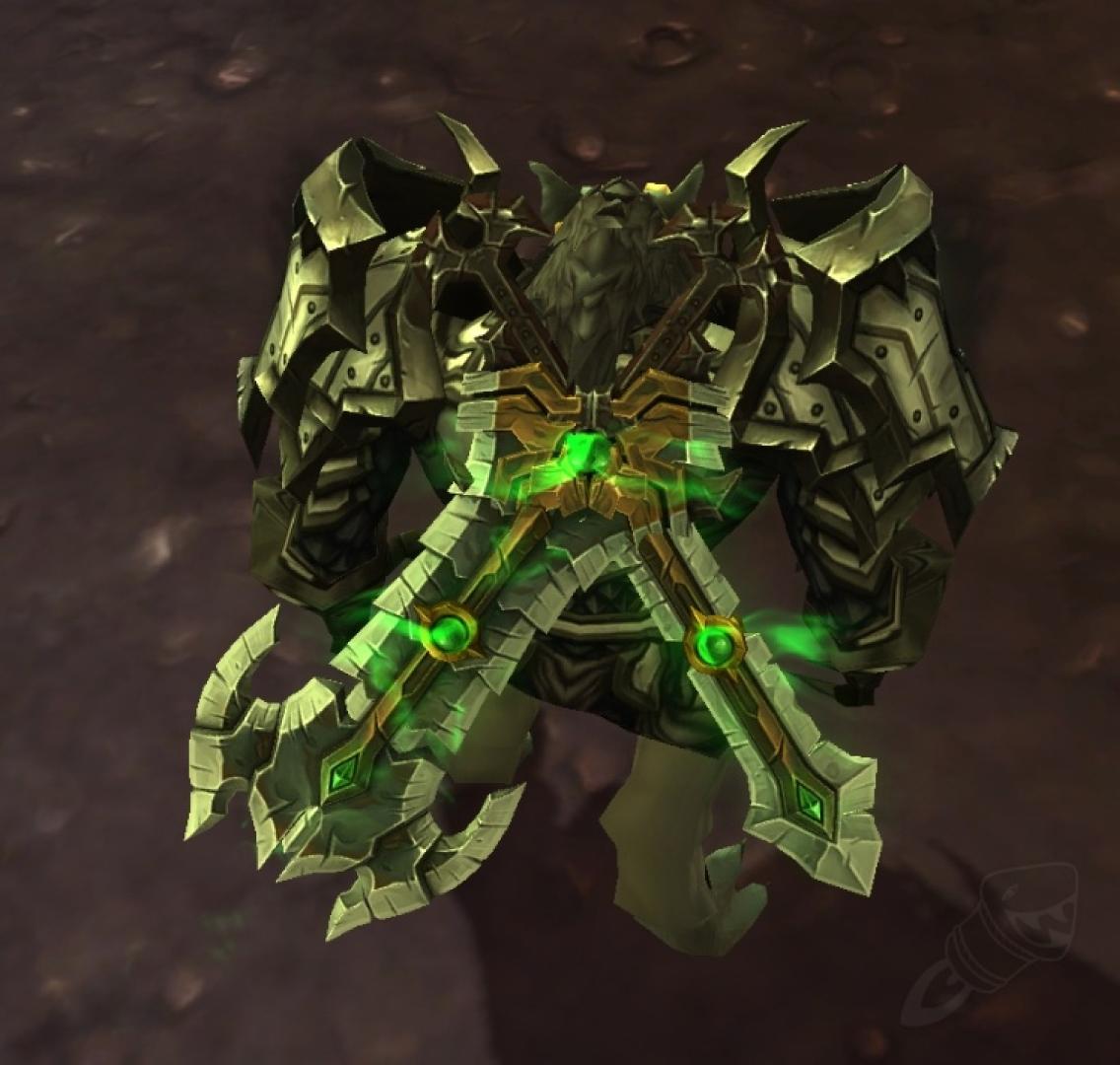 najlepiej wyglądające bronie wMMORPG shifting felblade