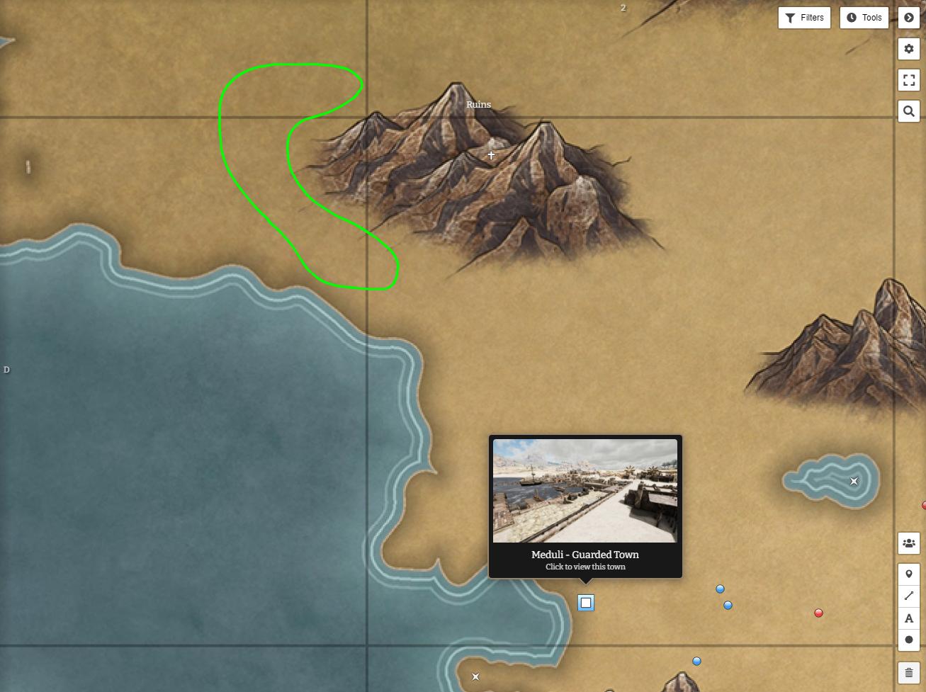 Mortal Online 2 Lokalizacja koni wierzchowców