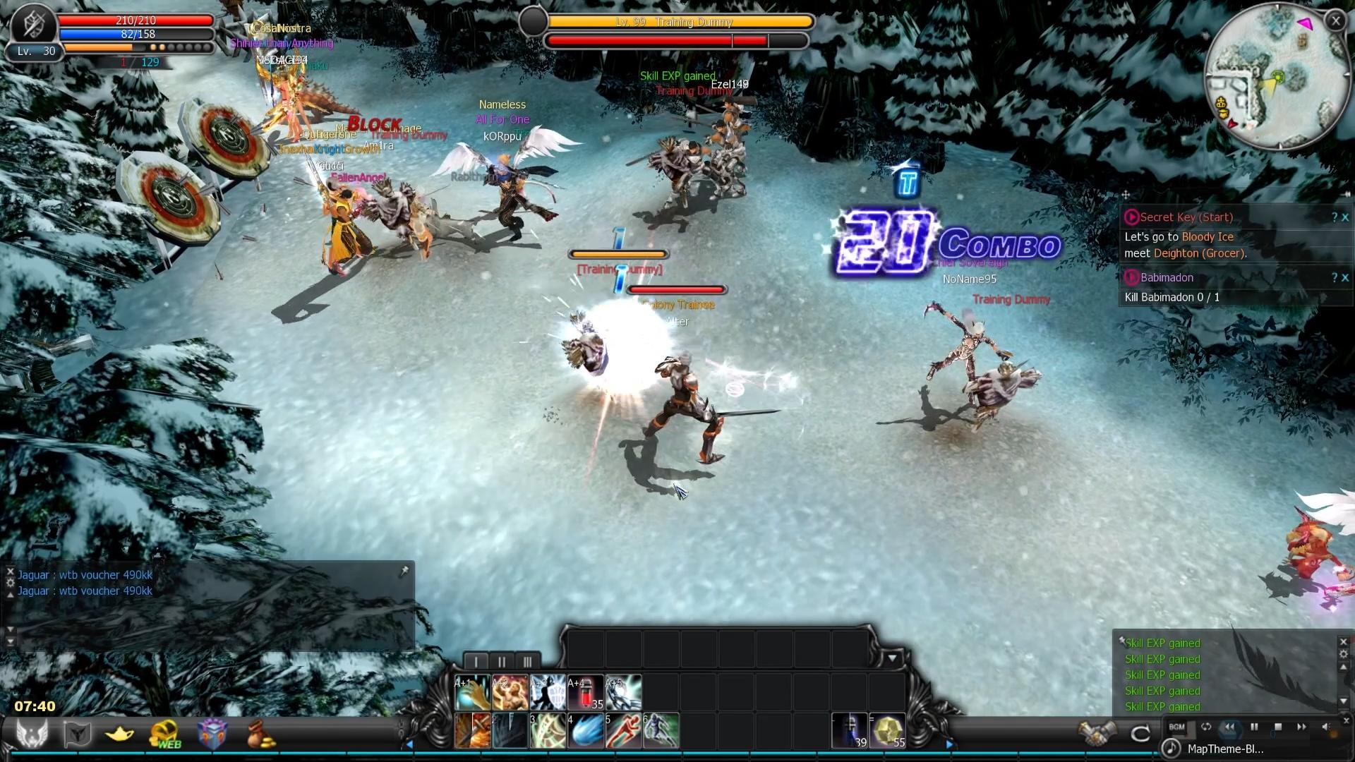 Retro MMORPG Cabal Online