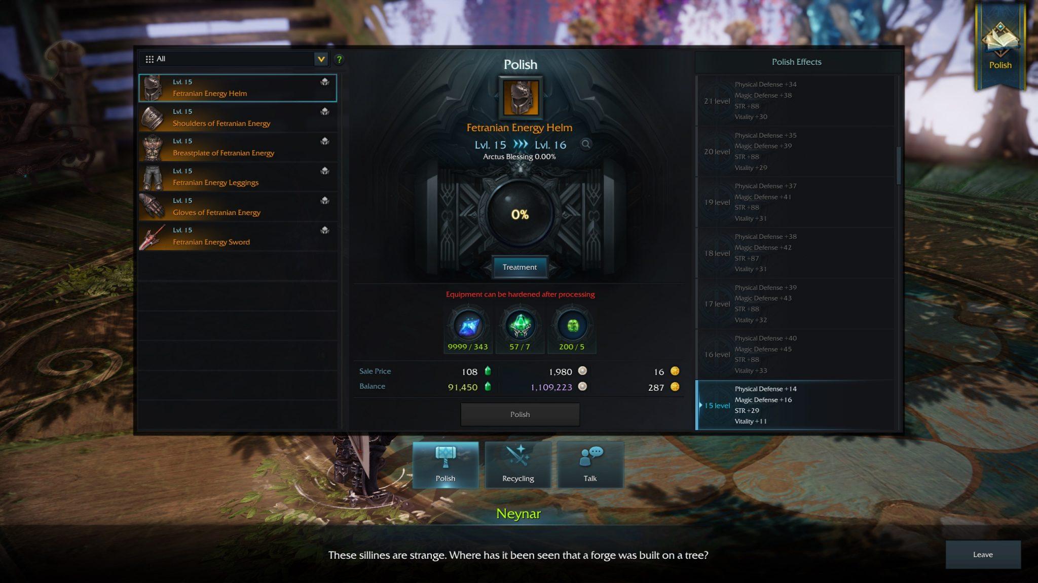 Lost Ark Online Gear Score Upgrade