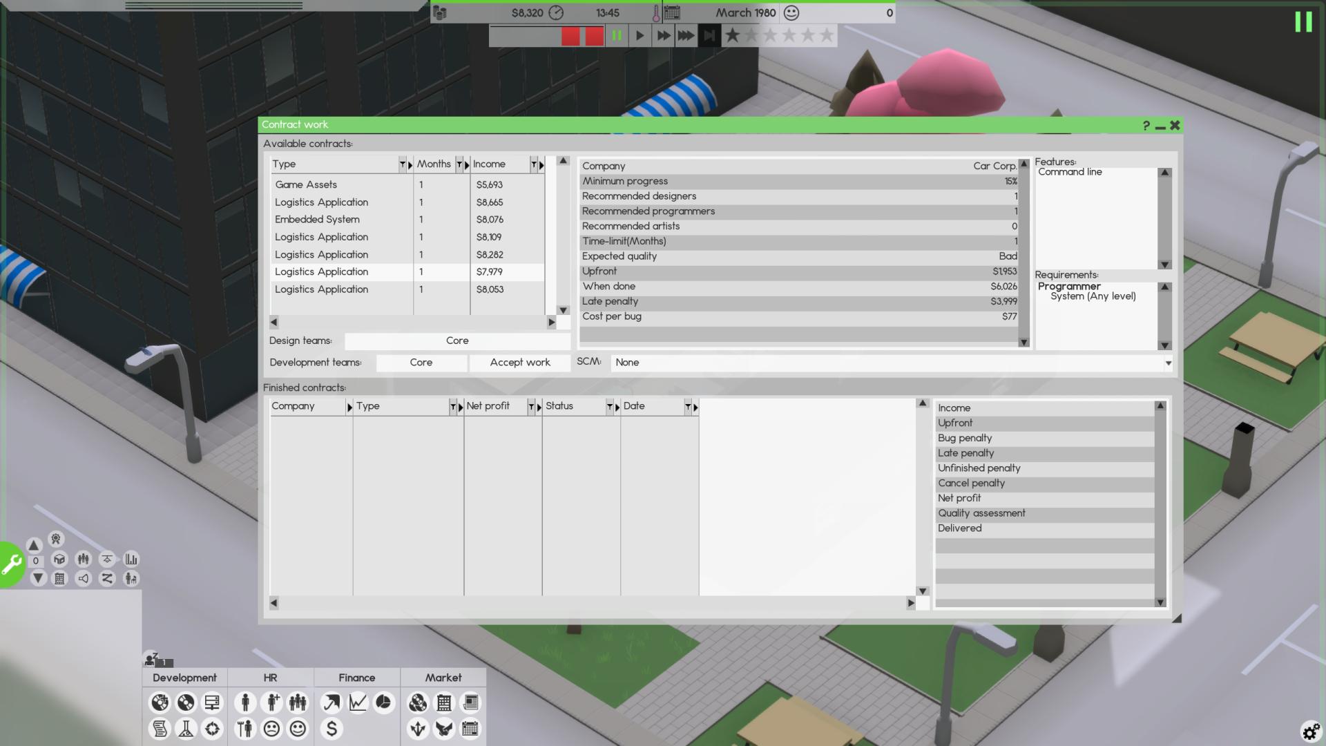 software inc porady pierwsze projekty