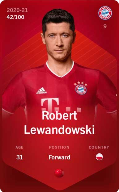 Sorare Lewandowski