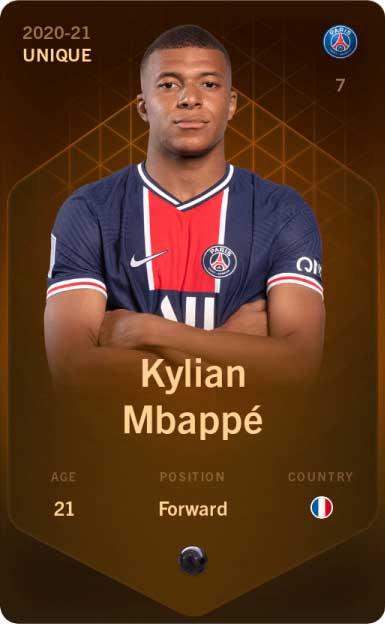 Sorare Mbappe blockchain