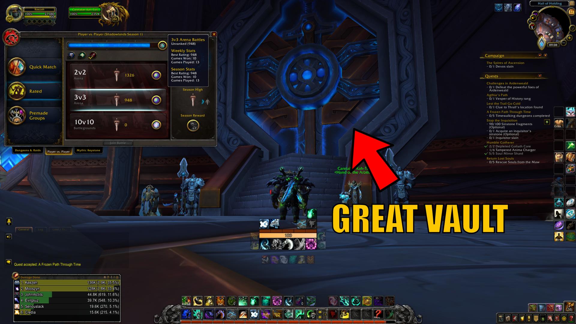 WoW Great Vault