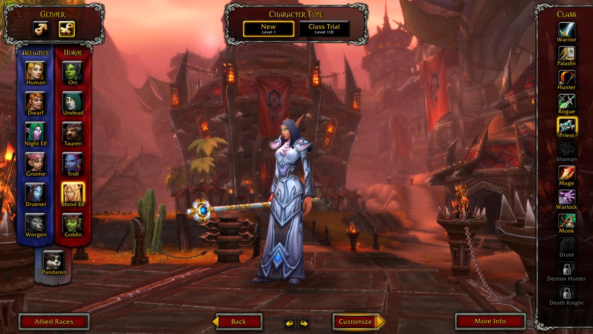 MMORPG dla dziewczyn World of Warcraft